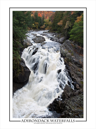 Ausable River Waterfall