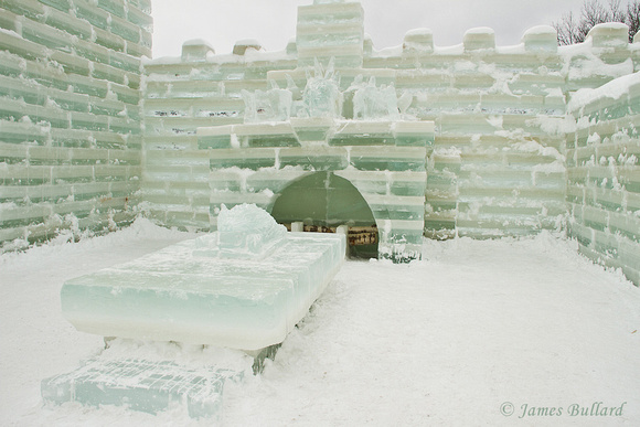 Fireplace, Ice Castle